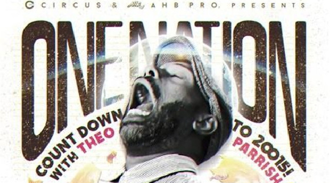 CIRCUS&AHB presents ONE NATION -THEO PARRISH COUND DOWN to 2015-  2014-12-31(Wed) 21:00