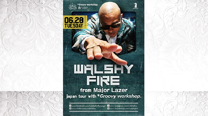 CHEVAL / RED 「ANGELS」 Walshy Fire from Major Lazer