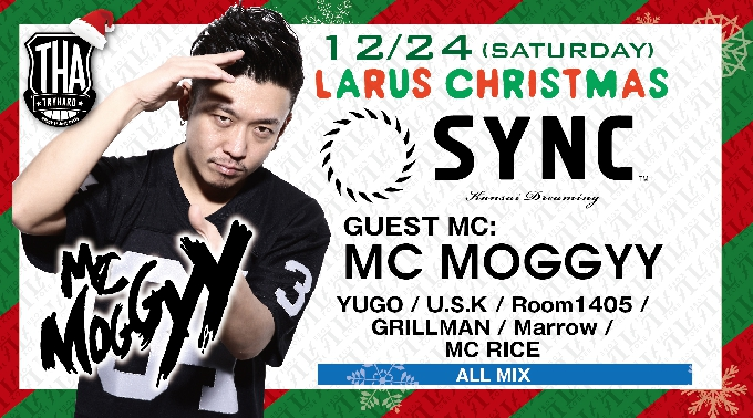 SYNC / SPECIAL GUEST : MC MOGGYY