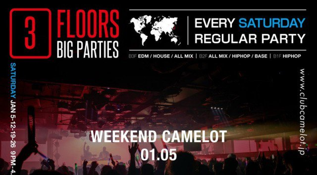 2019.1.5.SAT WEEKEND CAMELOT -NEW YEAR PARTY 2019-