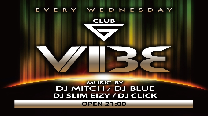 9.28.Wed【VIBE】毎週水曜日 – Every Wednesday