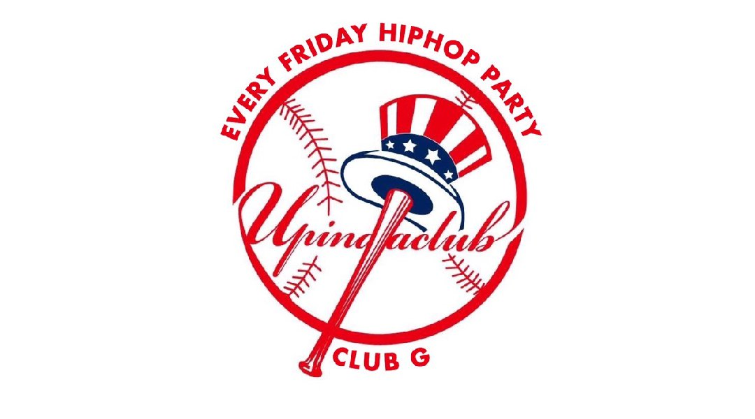 "2020.1.10 Fri. ""UP IN DA CLUB"" Every Friday Hottest Hip-Hop Party in Hiroshima!"