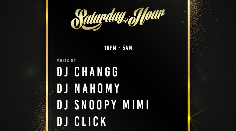 "2020.10.3 Sat. 土曜日 ""Saturday Hour"" 広島土曜日鉄板King Of Party! No.1 ‬King Of HipHop Party in Hiroshima"