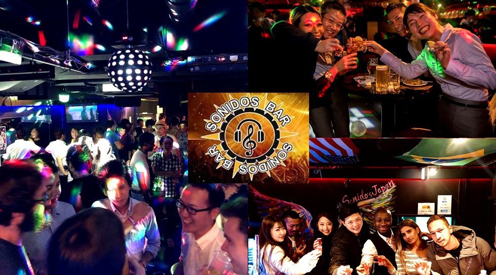 【Sonidos Bar Roppongi DJ Nightlife Saturday ソニドスバー六本木 】土曜日はDJナイト! Saturday Night Party★