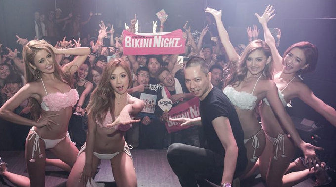 7/2 福岡 博多 MILLS BIKINI NIGHT SUMMER 土曜日